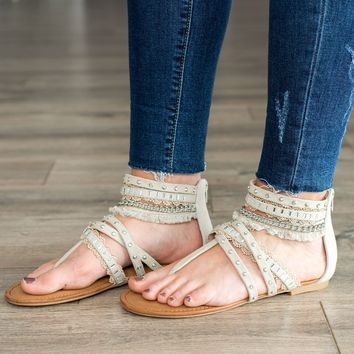 Not Rated Xara Sandal- Cream