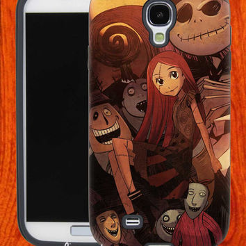 Nightmare Before Christmas,Accessories,Case,Cell Phone,iPhone 4/4S,iPhone 5/5S/5C,Samsung Galaxy S3,Samsung Galaxy S4,Rubber,29-11-24-Bn