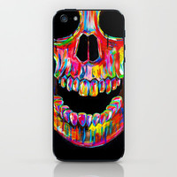 Chromatic Skull iPhone & iPod Skin by John Filipe | Society6