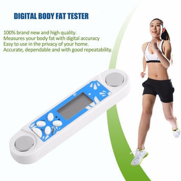 Handheld Design ABS Mini Body Fat Caliper Monitors Electronic Digital Body Fat Tester Analyzer Body Health Monitor Device Hot