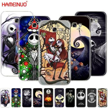 HAMEINUO Nightmare Before Christmas alloween cell phone case cover for Samsung Galaxy A3 A310 A5 A510 A7 A8 A9 2016 2017 2018
