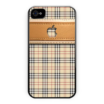 Burberry Inspired iPhone 4/4S Case