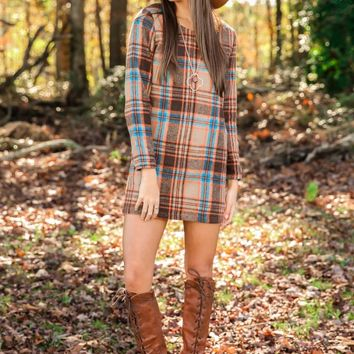 FRINGE: In Everything, Give Thanks Dress-Multi