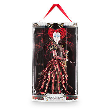 Disney Store The Red Queen Iracebeth From Alice Limited Doll New With Box & COA