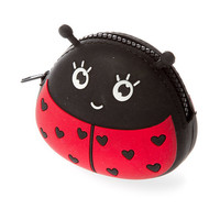 Ladybug Jelly Zippered Coin Purse
