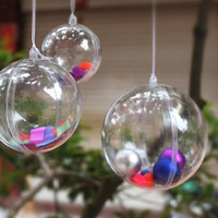 Christmas Tree Decor Ornament 4-8CM Ball