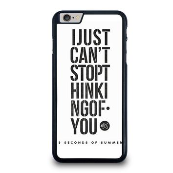 5 SECONDS OF SUMMER 6 5SOS iPhone 6 / 6S Plus Case Cover
