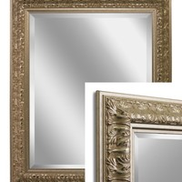 Ornate Silver Wall Mirror (8858) - Illuminada