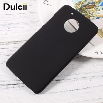 Dulcii For moto g5 g5plus Cover Rubberized PC Hard Mobile Phone Case for Motorola Moto G 5 G5 Plus Funda Coque Cases Shell Cover