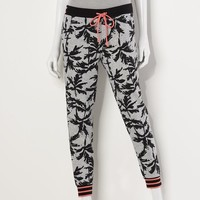 Princess Vera Wang Palm Tree Jogger Pants