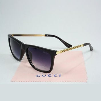 GUCCI Men Women Casual Popular Summer Sun Shades Eyeglasses Glasses Sunglasses