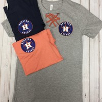 Astros keyhole tee (other colors)
