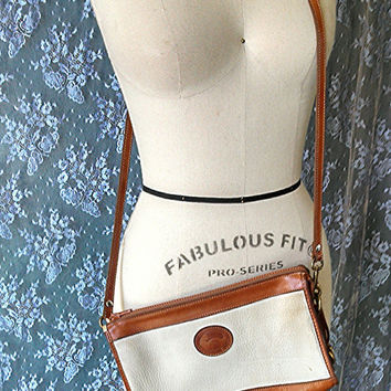 vintage 1990's DOONEY and BOURKE PURSE copy brown by 1505vintage