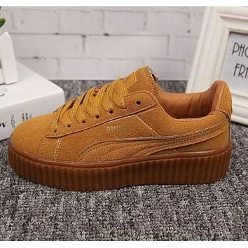 PUMA Rihanna Woman Men Fashion Old Skool Flats Shoes