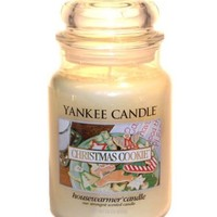 Yankee Candle Large 22-Ounce Jar Candle, Christmas Cookie