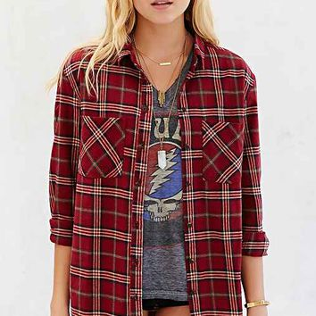 BDG Frankie 2 Flannel Button-Down Shirt-