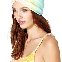 Rainbow Crush Velvet Turban