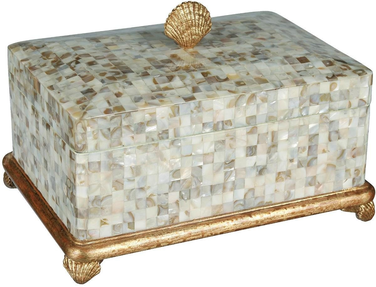 Mother Of Pearl Box From Vanity Mirror Home Decor