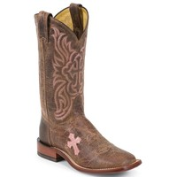 Tony Lama Women's Cross Inlay Western Boots