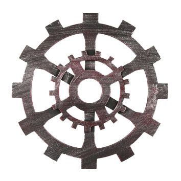 30cm Industrial Wood Wooden Gear Vintage Retro Art Bar Cafe Wall Hanging Decoration