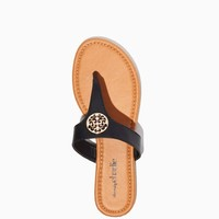 Metta Medallion Thongs | Fashion Accessories – Shoes - Sandals | charming charlie