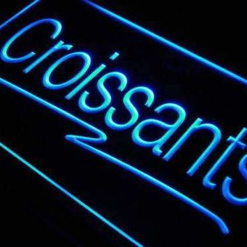 Bakery Cafe Croissants Neon Sign (LED)