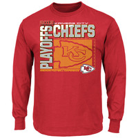 Rally House | KC CHIEFS PLAYOFF SEASON CNTNDR IV LS T