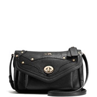 Coach Rhyder Crossbody In Pebble Leather