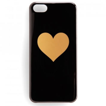iPhone 5/5s Ban.do Heart Case - Black/Gold