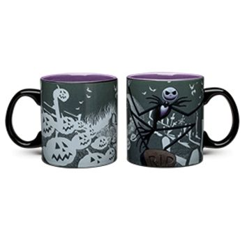 Nightmare Before Christmas Heat Change 20oz Mug