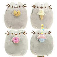 2016 Kawaii Brinquedos New Pusheen Cat Cookie & Icecream & Doughnut 5 Styles Stuffed & Plush Animals Toys for Girls