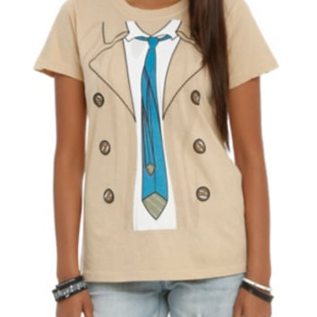 Supernatural Castiel Costume Girls T-Shirt