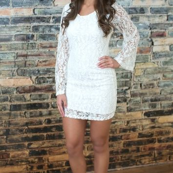 Only In Your Dreams Lace Dress