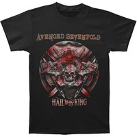 Avenged Sevenfold Men's  Battle Armor 2014 Tour T-shirt Black