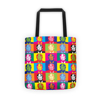 Andy Warhol Style Donald Trump Tote bag