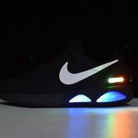 Nike Roshe Run Air Mag run LED Color Black 417744-009