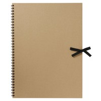 Recycled Paper Craft Sketch Book F4