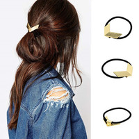 Retro Vintage V Shape  Women Birthday Gift Casual Jewelry Accessories Hair Band Clip _ 1999