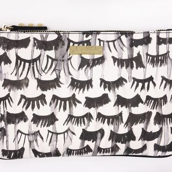 Lashes Saffiano Pencil Case