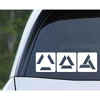 Assassin's Creed Abstergo Loading Logo Die Cut Vinyl Decal Sticker