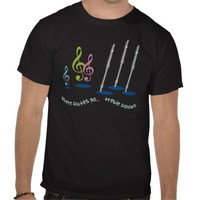 Funny Flute Player Gift T-shirts from Zazzle.com