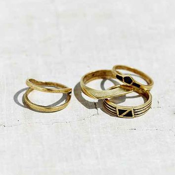 Cityscape Ring Set