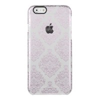 Vintage, lavender,damask,trendy,girly,cute,chic, uncommon clearly™ deflector iPhone 6 case