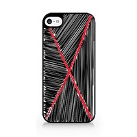 X Sign - Cross Out - Doodle Art - iPhone 5C Black Case (C) Andre Gift Shop
