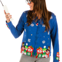 S'Now Place Like a Home Ugly Christmas Sweater