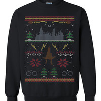 Harry Potter Ugly Christmas Sweater sweatshirt unisex adults size S-2XL