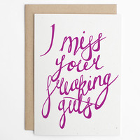 Funny Friendship Card, Long Distance Relationship, LDR Card, Love Card,  Best Friends, Friend Card, Relationship Card/C-125