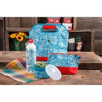 The Pioneer Woman Lunch Tote with Mini Bag and Water Bottle, Multiple Colors - Walmart.com