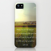 Country Life iPhone & iPod Case by AliciaMarie