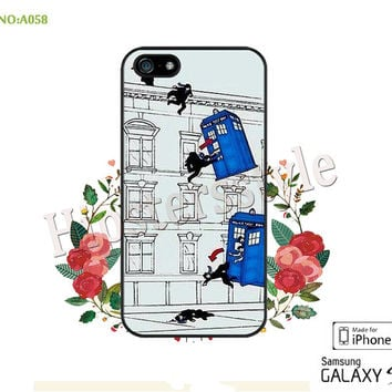 Doctor who Phone Cases, iPhone 5/5S Case, iPhone 5C Case, iPhone 4/4S Case, Doctor who Galaxy S3 S4 S5 Note 2 Note 3 Case for iPhone-A058